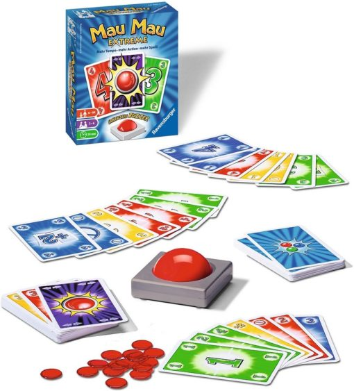 Gra karciana Mau Mau Extreme, promuje zręczność