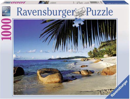 """Ravensburger puzzle """"Pod palmami"""" 1000 elementów"""