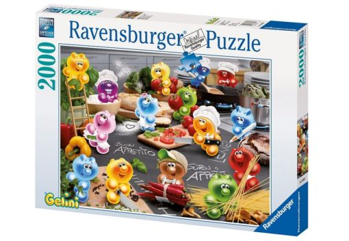 "Ravensburger puzzle 2000 elementów ""Kuchnia Gelini"""