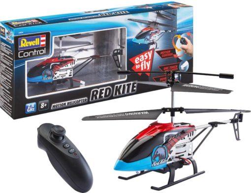 Śmigłowiec RC »Red Kite« z oświetleniem LED