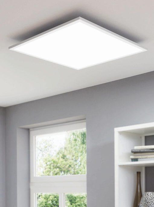 Lampa sufitowa LED z pilotem i funkcją ściemniania