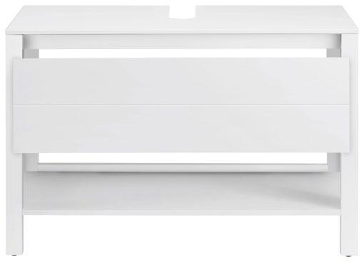 Nowoczesna szafka pod umywalkę , biała
