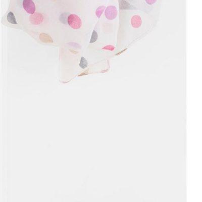 Wąski wieszak o nowoczesnym designie, biały mat
