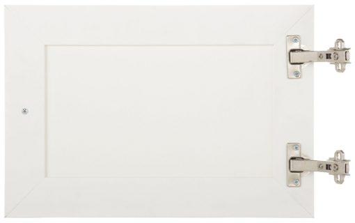 Białe drzwi do szafki/ witryny/ regału