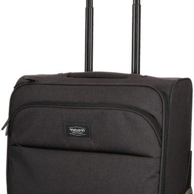 Mała walizka na kółkach, pilotka, z miejscem na laptop i tablet