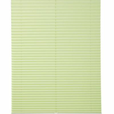 Zielona plisowana roleta 80x130 cm, bezinwazyjna