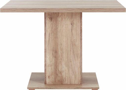 Stół kolumnowy 110 cm, kolor dziki dąb