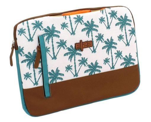 """Etui na laptopa 15"""", palmy, kolorowe"""