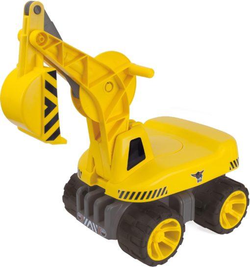 Koparka BIG Maxi-Digger, jeździk, ruchome części
