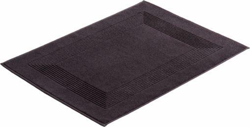 Dywanik łazienkowy, antracytowy, 100% bawełna