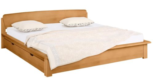 Łóżko 180x200 cm ze stelażem i szufladą pod łóżko