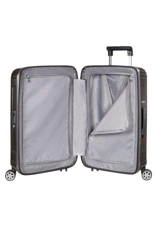 Twarda walizka na kółkach z zamniem TSA, Samsonite