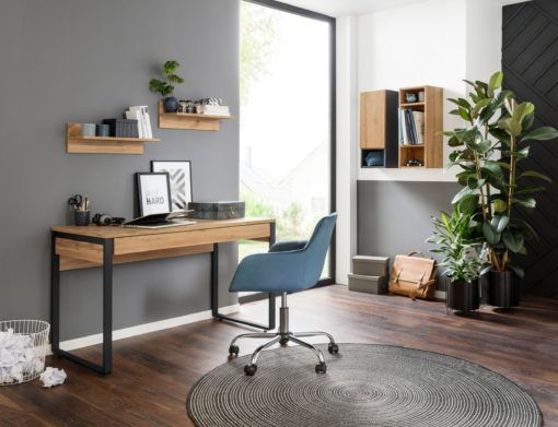 Biurko z szufladą w nowoczesnym, industrialnym stylu