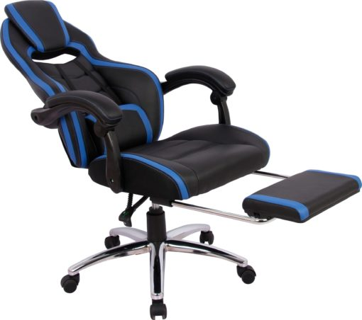 Fotel gamingowy Sprinta 1 z wysuwaną częścią na podparcie nóg