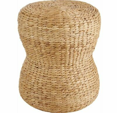 Hoker/ stołek z hiacyntu wodnego, naturalny