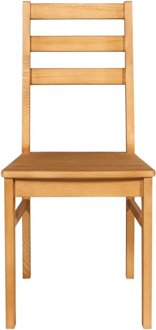Sosnowe krzesła, klasyczny styl, olejowane - 4 sztuki