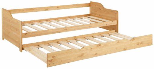 Sosnowe, rozkładane łóżko, dwupoziomowe