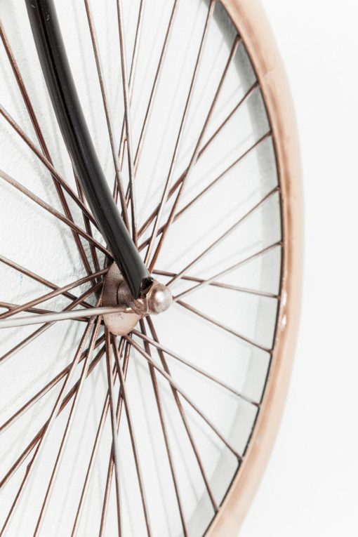 Ekstrawagancka dekoracja ścienna, rower vintage