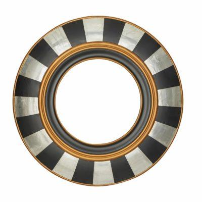 Okrągłe lustro inspirowane stylem egipskim