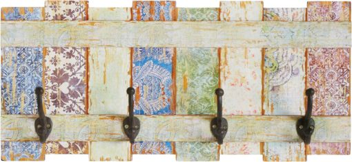 Mały panel ścienny w pastelowych kolorach