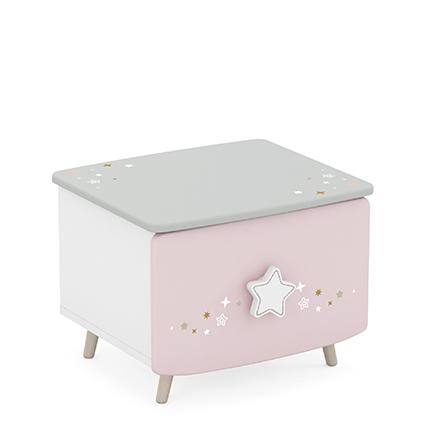 Mała komoda/ szafka nocna STARLI dla dziewczynki