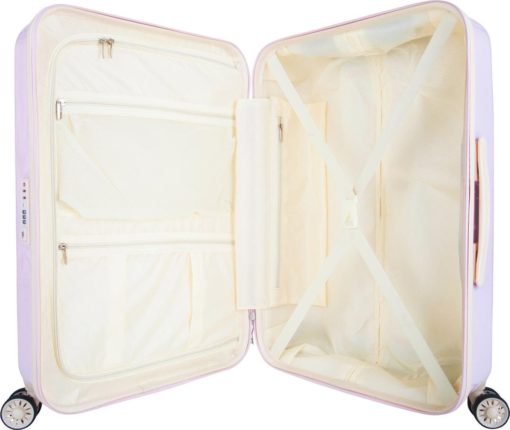 Twarda walizka na kółkach suitsuit, 65 l
