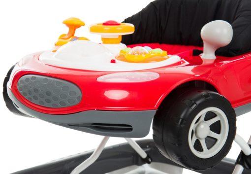 Chodzik Fillikid w kształcie samochodu, z dźwiękiem