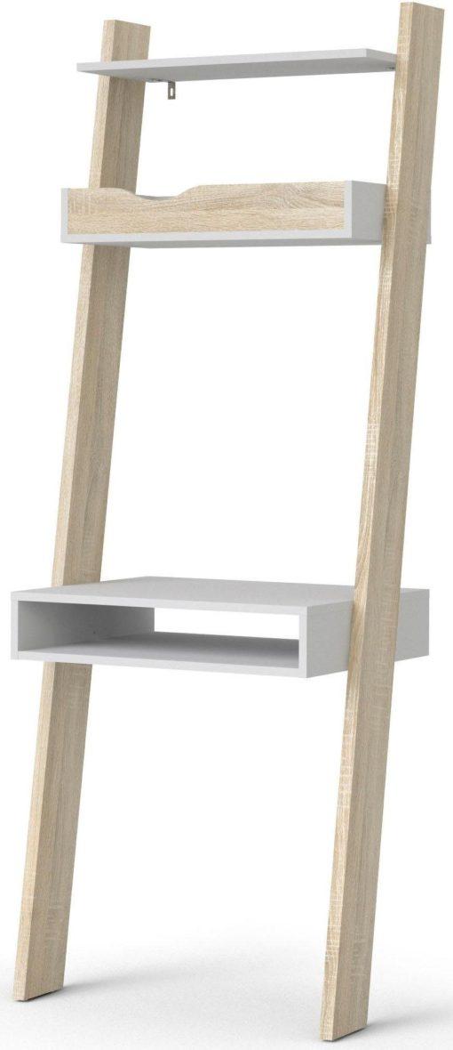 Regał w stylu skandynawskim, również jako biurko