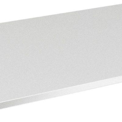 Biała półka do szafy 95x57 cm