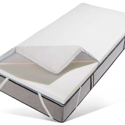 Materac nawierzchniowy 200x200 cm, elastyczna pianka