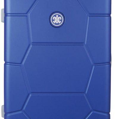 Twarda walizka z zamkiem szyfrowym, 65l, Dazzling Blue