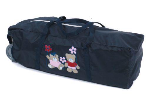 Składane łóżeczko turystyczne z torbą transportową