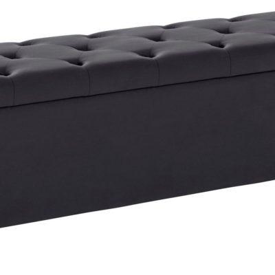 Duża tapicerowana ławka ze schowkiem 180 cm