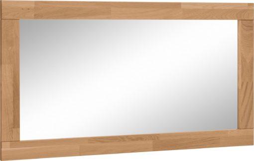 Lustro 100x55 cm w drewnianej, dębowej ramie
