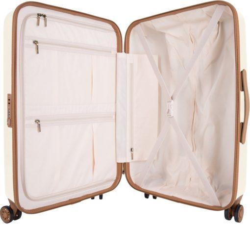 Niezwykle stylowa walizka na kółkach, 60 l, Polycarbonat