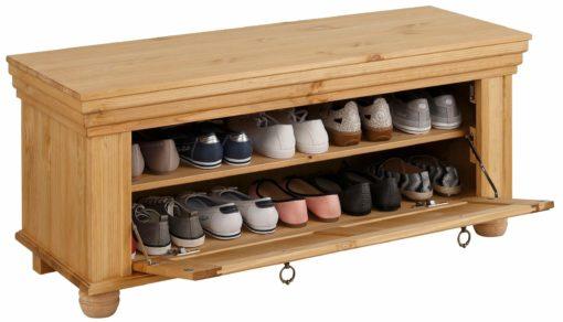 Bardzo elegancka i stylowa szafka na buty, olejowana