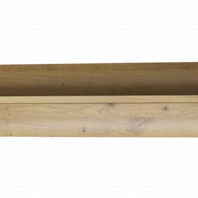 Prosta półka w kolorze dąb artisan 107 cm