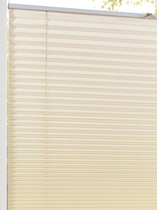 Plisowana roleta 60x130 cm w szampańskim kolorze