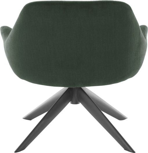 Ponadczasowy fotel w kolorze zielonym , styl retro