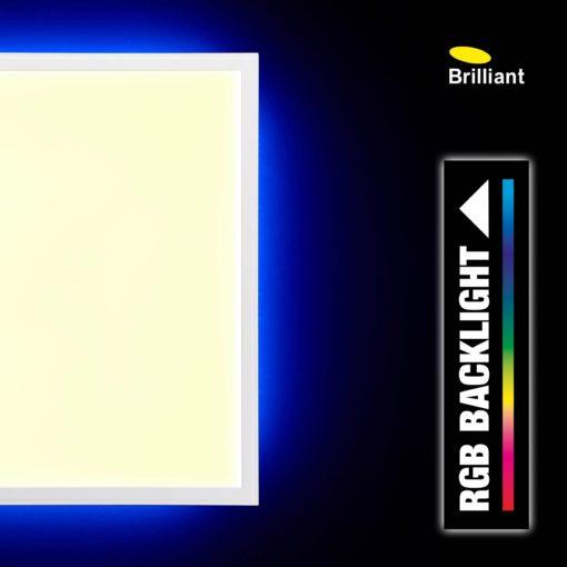 Panel led z funkcja ściemniania i zmiany kolorów, kwadratowy