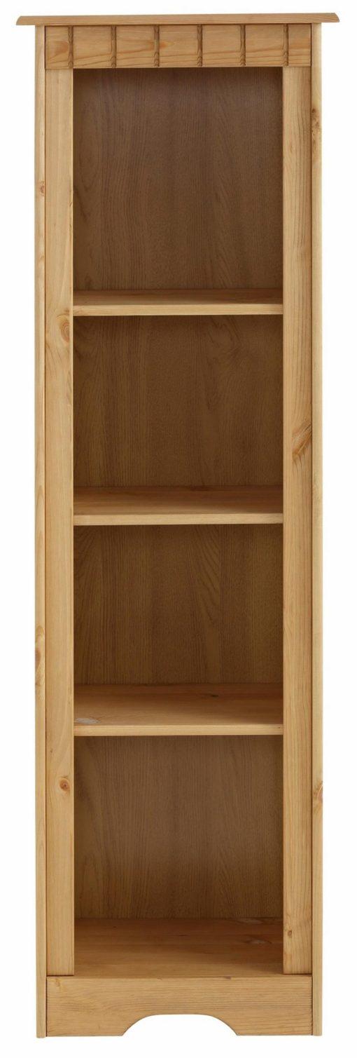 Regał z drewna w klasycznym stylu, olejowany