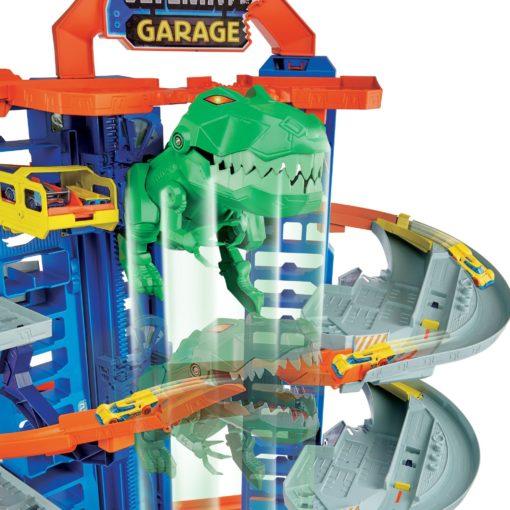 Hot Wheels Mega Garaż T-Rex'a, tor wyścigowy