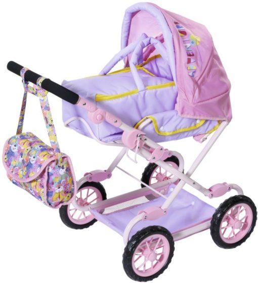 Wózek dla lalek BABY Born Deluxe Pram regulowany z torbą