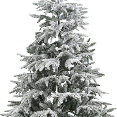 Choinka sztuczna, jodła szlachetna, ze śniegiem 90 cm