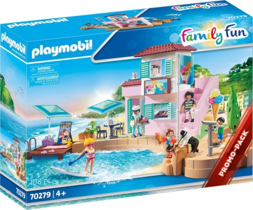 Playmobil Family Fun 70279 Lodziarnia w porcie