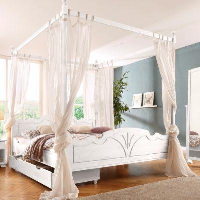 Dekoracja łóżka- sosnowy baldachim 140 cm
