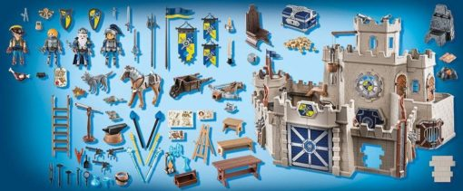 Playmobil Duży Zamek (70220) Novelmore, 374 elementy