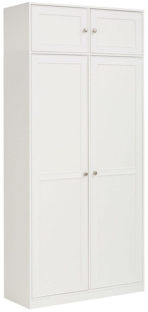 Białe duże drzwi do szafki