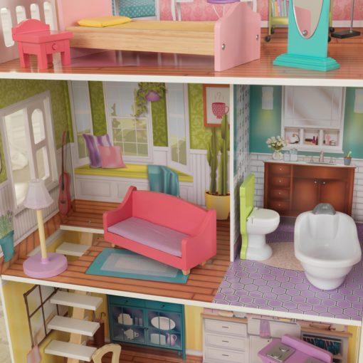 Domek dla lalek KidKraft Poppy z mebelkami