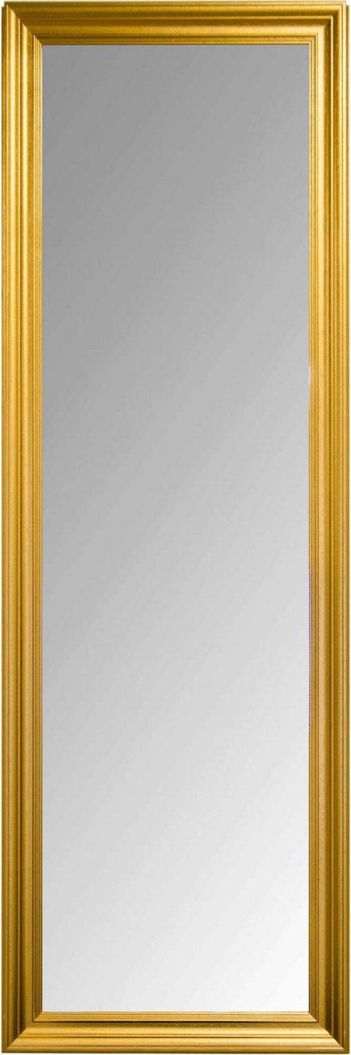Duże lustro złote dekoracyjne Derrek 150x50 cm